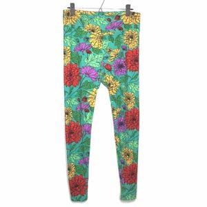LuLaRoe Floral Print Leggings